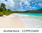 tropical paradise beach without ... | Shutterstock . vector #1159911604