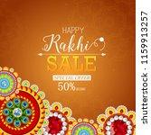 vector abstract for raksha... | Shutterstock .eps vector #1159913257