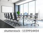 contemporary meeting room... | Shutterstock . vector #1159914454