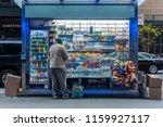 new york  usa   may 14  2018 ...   Shutterstock . vector #1159927117