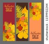abstract  illustration autumn... | Shutterstock . vector #1159932244