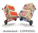 usa china economic trade war... | Shutterstock . vector #1159933531
