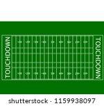 top view american football... | Shutterstock .eps vector #1159938097