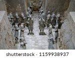 xian   jun 30 terracotta army... | Shutterstock . vector #1159938937