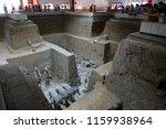 xian   jun 30 terracotta army... | Shutterstock . vector #1159938964