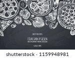 horizontal menu or packaging... | Shutterstock .eps vector #1159948981
