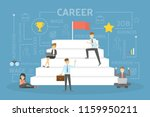 career development concept....   Shutterstock .eps vector #1159950211