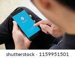 chiangmai thailand   august 20... | Shutterstock . vector #1159951501