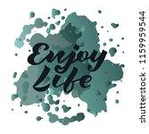 vector illustration of enjoy... | Shutterstock .eps vector #1159959544