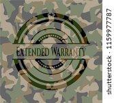 extended warranty on... | Shutterstock .eps vector #1159977787