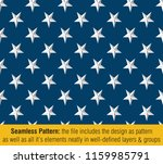 vector seamless pattern of the... | Shutterstock .eps vector #1159985791