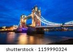 Tower Bridge In London In The...