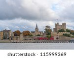 Rochester Castle And Cathedral...