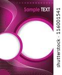 background template business...   Shutterstock .eps vector #116001541
