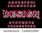 vector of modern abstract... | Shutterstock .eps vector #1160022304