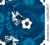 abstract seamless football... | Shutterstock .eps vector #1160022877