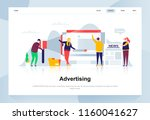 advertising and promo modern... | Shutterstock .eps vector #1160041627