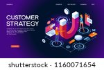 customer strategy  customer... | Shutterstock .eps vector #1160071654