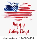 usa labor day holiday... | Shutterstock . vector #1160084494