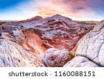 red rock canyon mountain... | Shutterstock . vector #1160088151