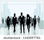 vector illustration of business ...   Shutterstock .eps vector #1160097781