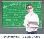 back to school concept with...   Shutterstock . vector #1160107291
