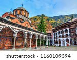 beautiful view of the orthodox... | Shutterstock . vector #1160109394
