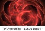 4k 3d rendering colorful... | Shutterstock . vector #1160110897