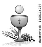 Illustration Of The Eucharist...