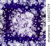 winter border with ultra violet ...   Shutterstock .eps vector #1160127274