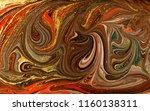 gold marbling texture design.... | Shutterstock . vector #1160138311