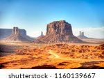 monument valley tribal park | Shutterstock . vector #1160139667