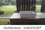 modern sink in soft light | Shutterstock . vector #1160151307