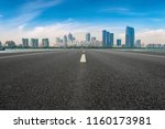 air highway asphalt road and... | Shutterstock . vector #1160173981