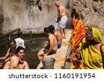 jaipur  india   march 13 galta... | Shutterstock . vector #1160191954