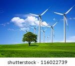 green environment | Shutterstock . vector #116022739