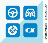 automotive icon. 4 automotive...   Shutterstock .eps vector #1160233654
