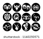 laser cutting template.... | Shutterstock .eps vector #1160250571