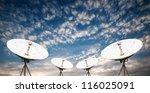 satellite dish antennas under...