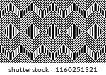 seamless pattern with striped... | Shutterstock .eps vector #1160251321