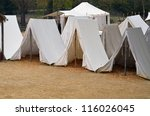 Enlisted Soldier's Tents
