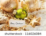 christmas decoration | Shutterstock . vector #116026084