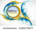 vector template isolated... | Shutterstock .eps vector #1160273077