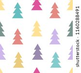seamless pattern with abstract... | Shutterstock .eps vector #1160288491