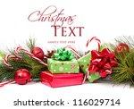 Christmas Presents And Pine...