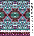 indian rug tribal ornament... | Shutterstock .eps vector #1160298757