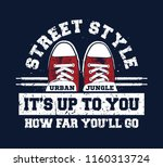 sneakers illustration for t... | Shutterstock .eps vector #1160313724