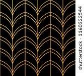 beautiful art deco pattern... | Shutterstock .eps vector #1160322544