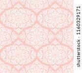 orient vector classic pattern.... | Shutterstock .eps vector #1160329171