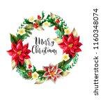Christmas Wreath With Slogan ...